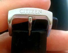 Citizen eco Drive chronograph super titanium con caucho