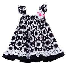 This is one of my favorites on totsy.com: Infant Floral Smock Dress