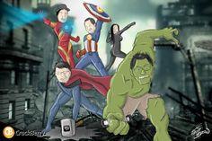 The BlackBerry Avengers