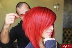 Love the cut AND the color!!