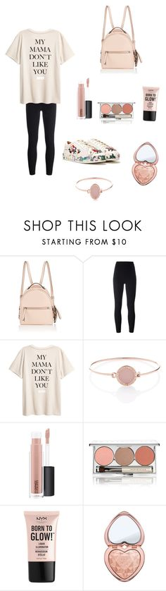 """""""Relaxing Sunday🌸"""" by juliamariemcmahon ❤ liked on Polyvore featuring Fendi, Yeezy by Kanye West, Michael Kors, MAC Cosmetics, Chantecaille, NYX, Too Faced Cosmetics and Nasty Gal"""