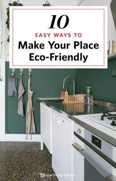 If you're looking to be more eco-friendly or go completely green, here are 10 easy, super simple changes that require the most minimal amount of effort. Switches as simple as changing a lightbulb (seriously) or buying a dish towel don't call for much work on your part, but together they'll add up to a total eco-friendly home makeover.
