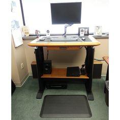 standing desk workstation costco