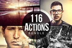 116 Actions Bundle ~ Actions on Creative Market