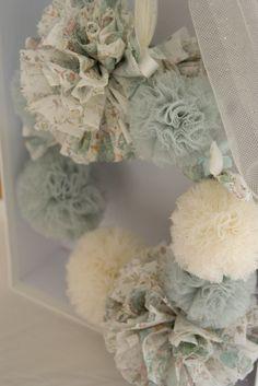 "Winter 13/14 Couronne Oscar & Lila ""Make a wish"" coloris ""Bleu gustavien"""