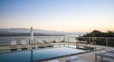 Athena Seafront Villas - Authentic Crete, Villas in Crete, Holiday Specialists Crete, Villas, Bedrooms, Mansions, House Styles, Holiday, Vacations, Bed Room, Villa
