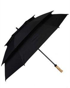 Pagoda MultiVent Umbrella (Black)