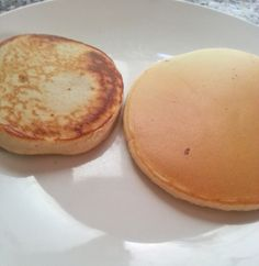 The perfect brunch with Pancakes. Tortitas Americanas.