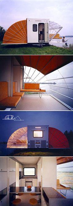 De Markies mobile home by Eduard Böhtlingk. Ah-mazing.
