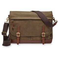 Fossil  Defender Messenger Bag ($198) ❤ liked on Polyvore featuring bags, messenger bags, black, courier bag, laptop bags, macbook pro laptop bag and laptop messenger bags