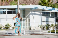 Fashion label Mister Zimi captured their Poolside SS16 collection across  various sun-drenched holiday destinations including Palm Springs. Oh, this  just feeds my obsession with this Californian desert town.  Photography: Ming Nomchong / Styling: Alice Roberts  There are few places quite li