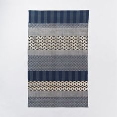 """""""kabuki cotton printed dhurrie"""" from west elm."""