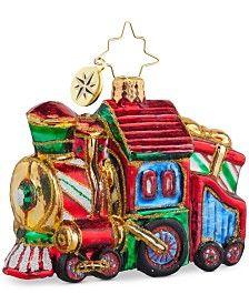 Christopher Radko Sweet Chuggin Along Gem Ornament