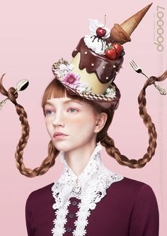 Showcase and discover creative work on the world's leading online platform for creative industries. Mode Inspiration, Character Inspiration, Candy People, Hansel Y Gretel, Portrait Photography, Fashion Photography, Crazy Hats, Photo D Art, Costume Hats