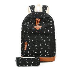 Школьный рюкзак 2 в 1 с рисунком жирафа, фото 6