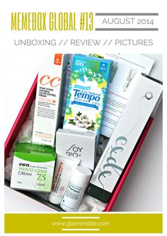 Memebox (미미박스) Global #13 Review, Pictures, Unboxing | via @glamorable #bbloggers #memeboxglobal #memebox #unboxing #review #koreanskincare #skincare #beautybox