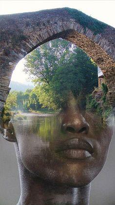 Black Bridge - Antonio Mora - SUCH INCREDIBLE IMAGINATION, OUI !! - ANOTHER FABULOUS PIECE BY ANTONIO!! ✳✳✳
