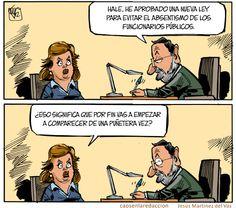 Cada vez que Esperanza Aguirre abre la boca, don Mariano se echa a temblar.