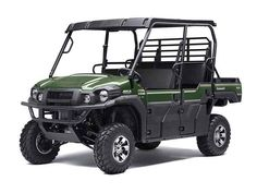 """New 2015 Kawasaki Mule™ PRO-FXT™ EPS LE ATVs For Sale in Michigan. The new Kawasaki Side x Side is capable and comfortable, ready for adventure or your toughest jobs. The all-new """"King of Mules"""" is the 2015 Kawasaki Mule PRO-FXTâ""""¢. This highly capable unit mixes Side x Side versatility with class-leading torque, making it the fastest and most powerful Mule ever. It also has new configurable Trans Cab seating for three or six passengers, along with more comfort and convenience features…"""