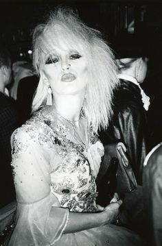 Patti Belle. Fashion designer for Duran Duran > New Romantic > 1980s Vintage street Style photography. Belle & Kahn, Birmingham