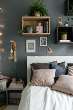 [New] The 10 Best Bedrooms (in the World) Grey Furniture, Furniture Design, Boys Desk, Vintage Shabby Chic, Dresser As Nightstand, Master Bedroom, Bedrooms, Industrial Storage