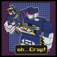 Soundwave has a bad day