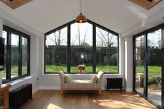 wooden Garden room 3 Simple and Creative Tricks: Steel Roofing Colors terrace roofing architecture.Roofing Colors How To Pick. House Extension Plans, House Extension Design, Glass Extension, Extension Ideas, Garden Room Extensions, House Extensions, House With Porch, House Roof, Roof Design