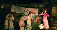 Disneyland Dumps 'Wench Bride' Auction from Pirates of the Caribbean Ride