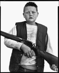 Richard Avedon, B.J. Van Fleet, nine-year-old, Ennis, Montana, July 2, 1982