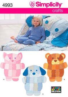rag quilt for children, Simplicity 4993