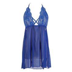 e5ed6e0700 2018 New New Sexy Women s Lace Plus Size Dress Lingerie Underwear Nightwear  Solid Sleepwear + G-stringc Bralette Crop Tops