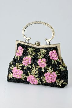 Maria Embroidered Satchel on Emma Stine Limited