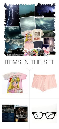 """""""~ Thunderstorm / SUMMER"""" by jillinchen ❤ liked on Polyvore featuring art"""