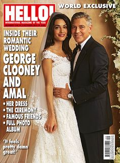 Amal Alamuddin's Wedding Dress - Elle