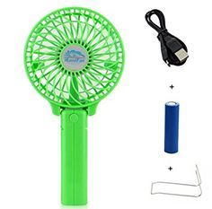 Hy Top Handfan Rechargeable Fans Portable Handheld Mini Fan Battery Operated Cooling Electric Personal