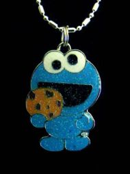 Cookie monster necklace. Were do i get one