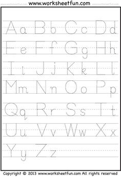 Give your child a boost using our free, printable Preschool writing worksheets. These preschool writing worksheets and coloring pages help prepare your kid for kindergarten. Take a look at our preschool writing printables. Free Printable Alphabet Worksheets, Alphabet Tracing Worksheets, Kids Math Worksheets, Alphabet Writing, Preschool Writing, Abc Tracing, Preschool Alphabet, Number Worksheets, Preschool Printables