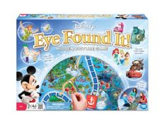 If you love board games, be sure to check out. Disney Eye Found It Board Game! This looks like a fun one!