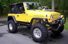 Jeep : Wrangler Rubicon Sport Utility.  2-Door.                                                       I would like it in a different color, like a black.