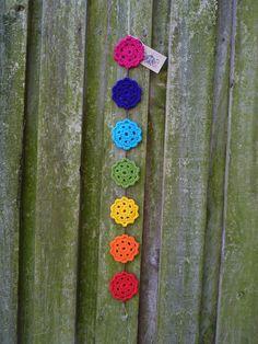 Crochet Chakra Hanger