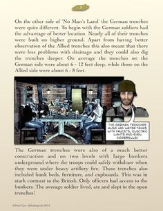 A thirteen page comic book to introduce the history of trench warfare during World War 1. It outlines why and how the trenches were constructed and what life was like for the soldiers who used them. It also includes some unusual facts about trench life and a page of memorable quotes from characters who lived through the war. Contains a quiz and other useful resources, and can be printed out in black and white, used as a slide show on a computer, or as a PDF e.book on a tablet.