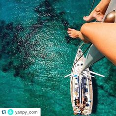 #sharemysea #Repost @yanpy_com  Looking for the best views?  #boat #sailboat #girl #sea #crystalclearwater #view #sailing #boating #barco #velero #chica #mar #vista #aguacristalina #navegar #ShareMySea