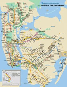 New York City Subway Map 1