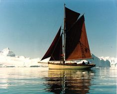 Pilot Cutter Madcap She just keeps rolling along.....the 1874-built Pilot Cutter Madcap seen at the ice during Adrian 'Stu' Spence's award-winning cruise to Greenland in 1998. Photo: Frank Sadlier