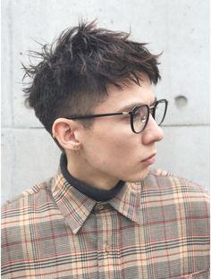 trendy haircut for men people Punk Haircut, Grunge Haircut, Asian Haircut, Medium Thin Hair, Medium Hair Styles, Short Hair Styles, Trendy Mens Haircuts, Girl Haircuts, Short Punk Hair
