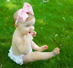 Big Bow Baby and Child Headband