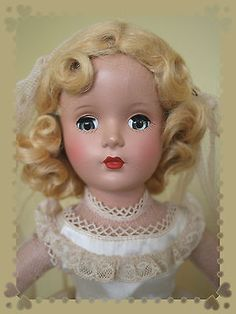 Madame Alexander Pink Bride Margaret, A Little Beauty *3 DAY LISTING*
