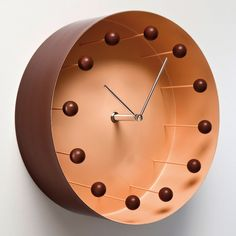 eu.Fab.com | Tank Wall Clock Brown http://eu.fab.com/sale/7813/product/124479/