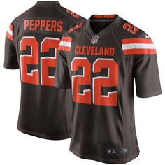 Jabrill Peppers Cleveland Browns Nike Youth Game Jersey - Brown