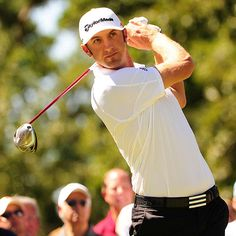 Dustin Johnson.  Who knew golfers could be so hot?!?